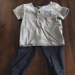 Toddler set lightly worn